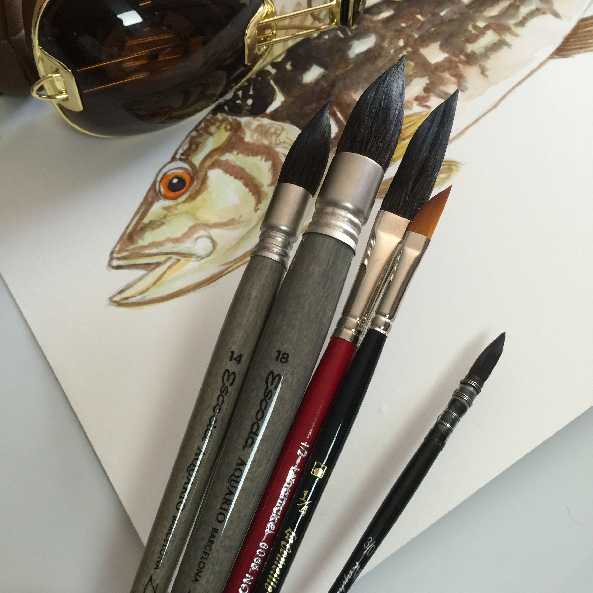 10 Best Watercolor Brushes Reviews Of Quality Watercolor Brush