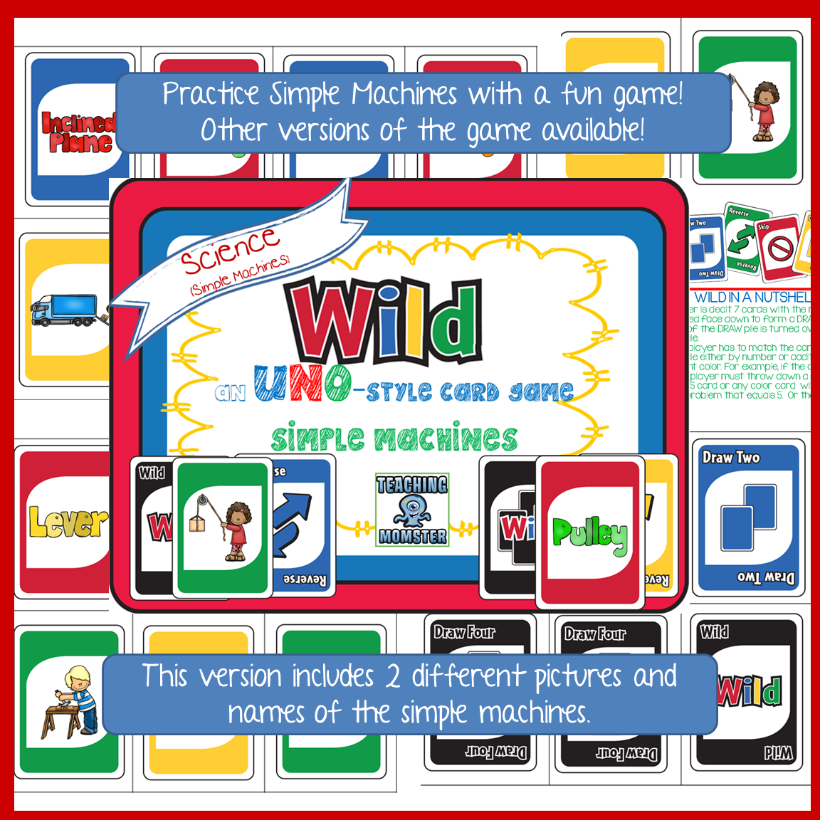 This Uno Style Card Game Can Help Students Practice Their