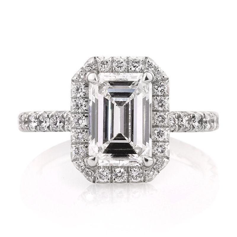 Markbroumand.com #2647-1  http://www.markbroumand.com/317ct-emerald-cut-diamond-engagement-anniversary-ring__2647-1d19999264/