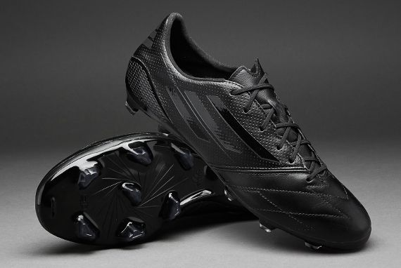 adidas f50 adizero leather black