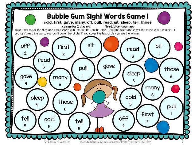 It is a graphic of Printable Sight Word Games throughout grade 1