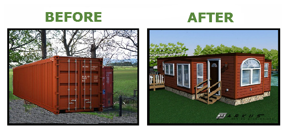 Shipping Container Homes With Slide Outs Built In Bc