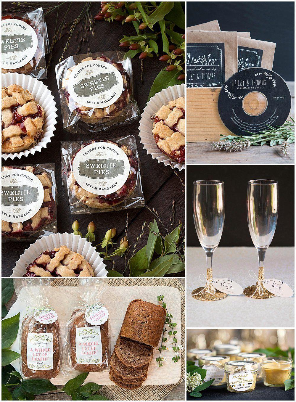 5 DIY Wedding Favors | Budget friendly wedding favours ...
