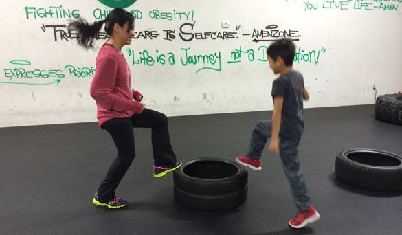 7-Minute Tire Workout   Loved it,Workouts   Tire workout