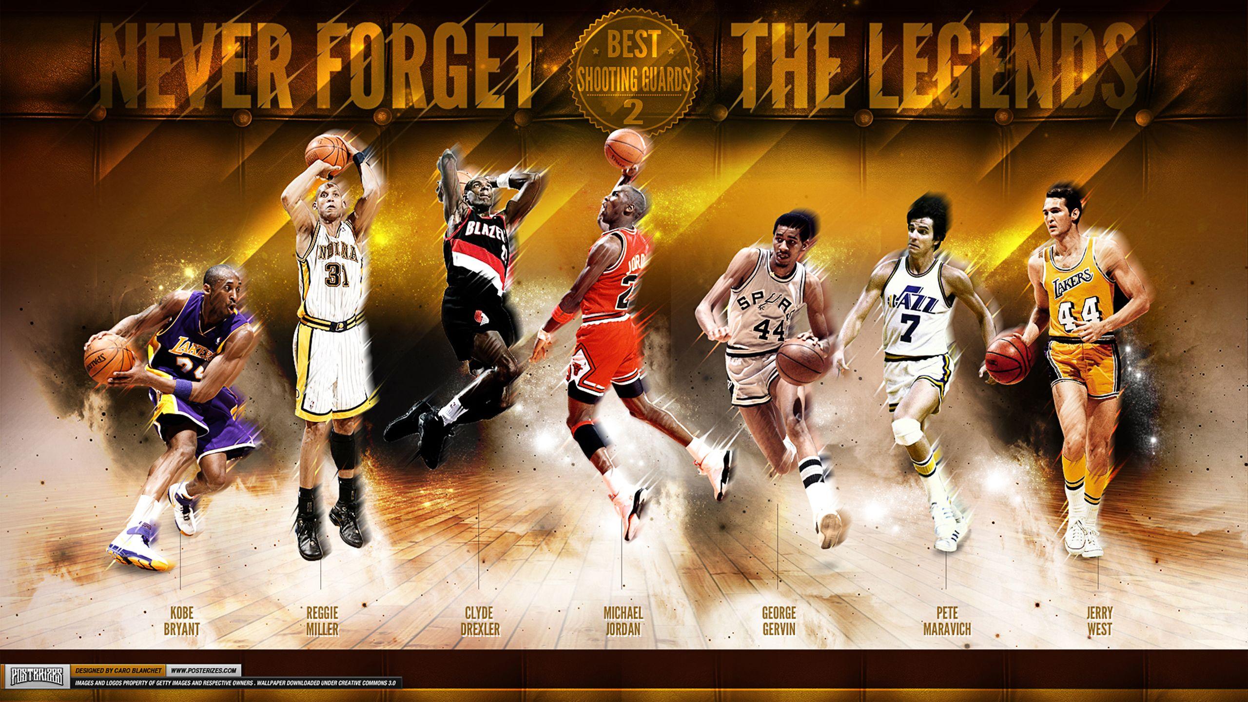 Nba Legends Kobe Bryant Lebron James Basketball