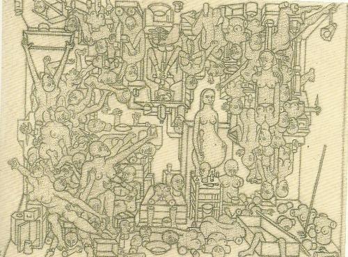 "#ART   On Kawara   ""Smallpox"" 1952"