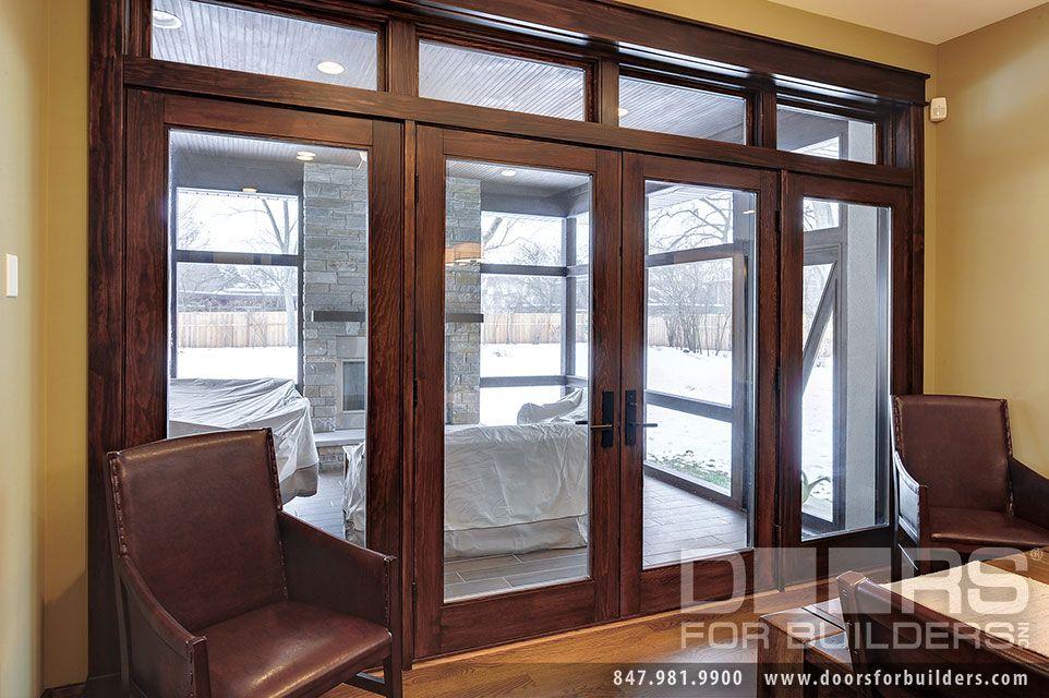 Custom Windows Project Windsor Pinnacle Clad Patio Doors Patio