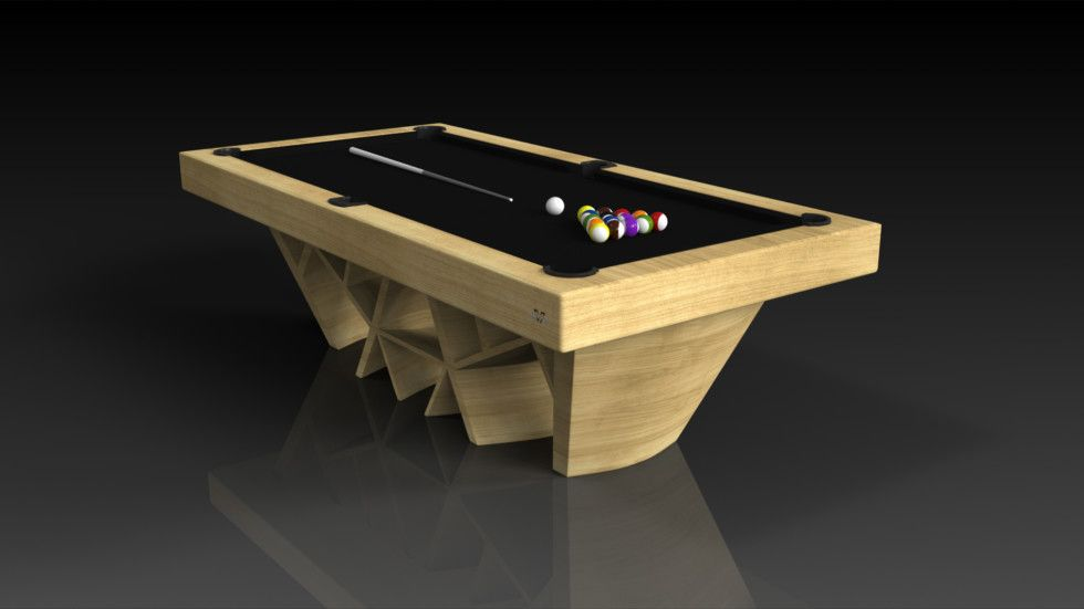 Maze Pool Bamboo The Maze Pool Table Can Be Customized In Your