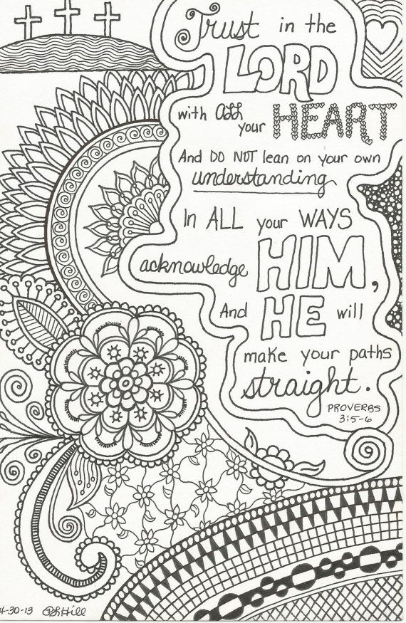 I Should Doodle Zen Style Around Some Bible Verses This