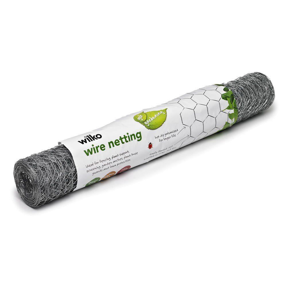 10m X 60cm Wire Garden Netting Garden Netting Garden Arches
