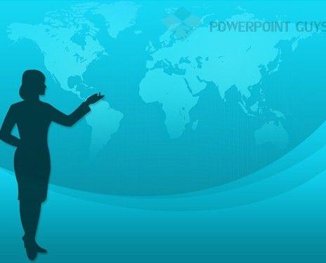 light blue powerpoint background
