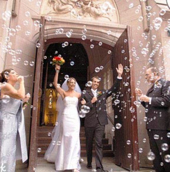 Buble Wedding Ceremony Exit Ideas