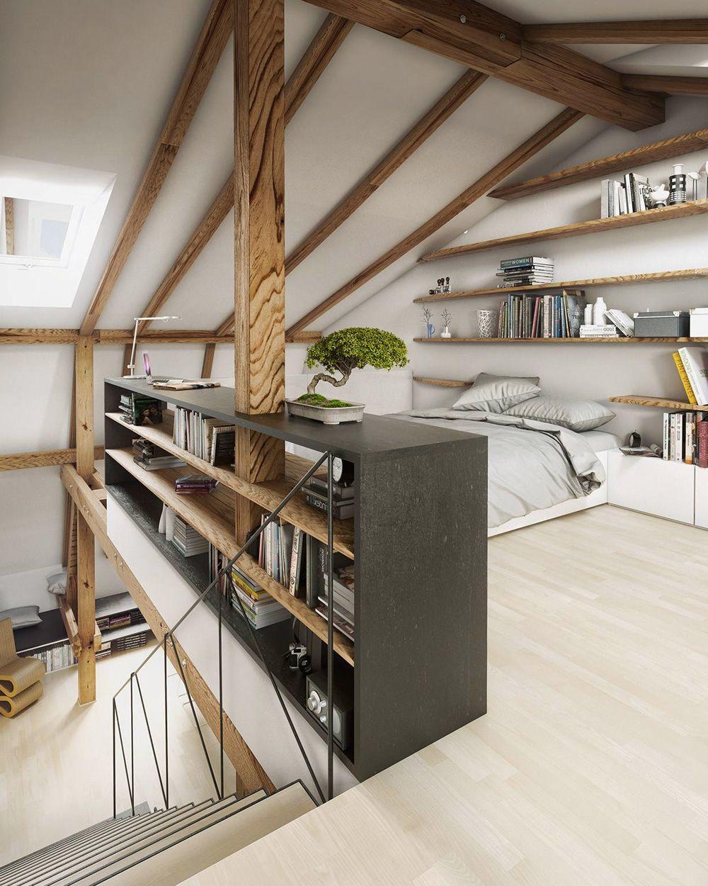 Un intérieur lumineux avec Velux | Déco combles, Combles et ...