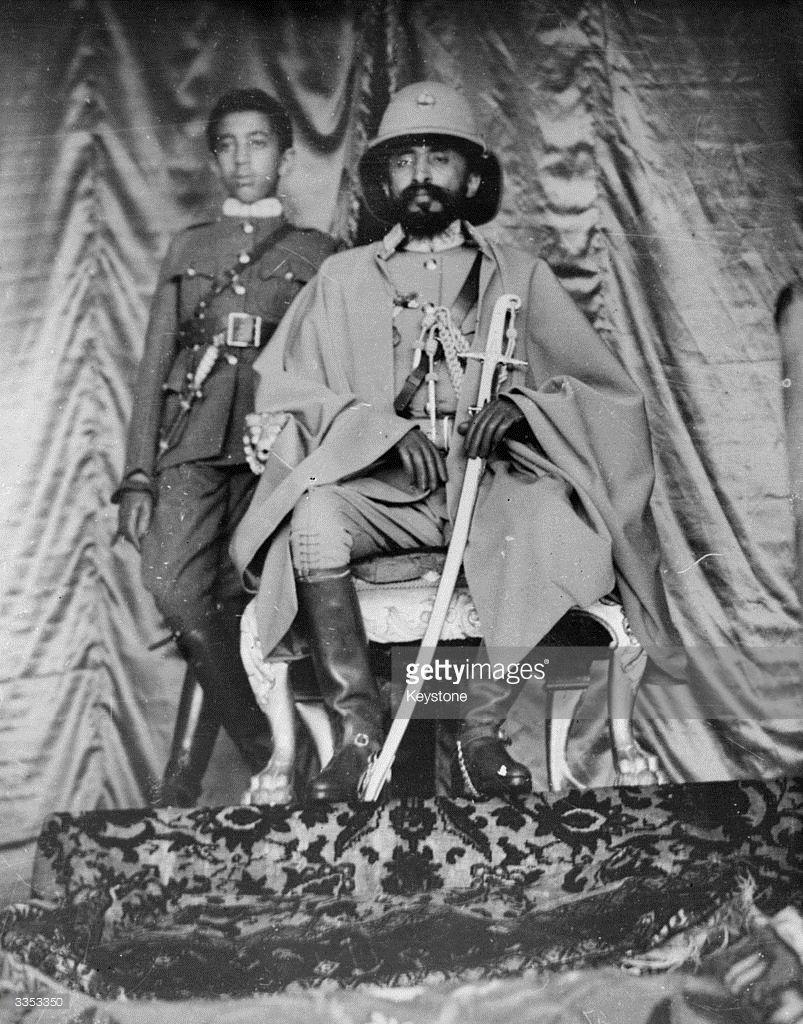 His Imperial Majesty Emperor Haile Selassie I of Ethiopia ...