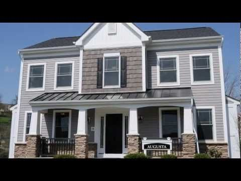 Click Here And Visit Http Www Heartlandcustomhomes Com Home Type Augusta To View Additional Videos Phot Custom Home Builders House Exterior New Home Designs