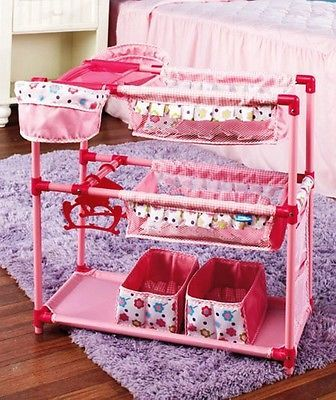 Baby Doll Changing Twin Bunk Beds High Chairs For 2 Fits
