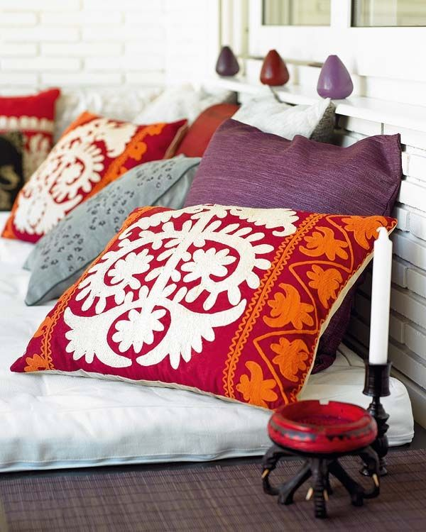 morrocan boho pillows