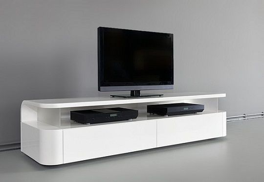 Sleek And Functional Tv Audio Unit By Ronald Knol Tv Stand