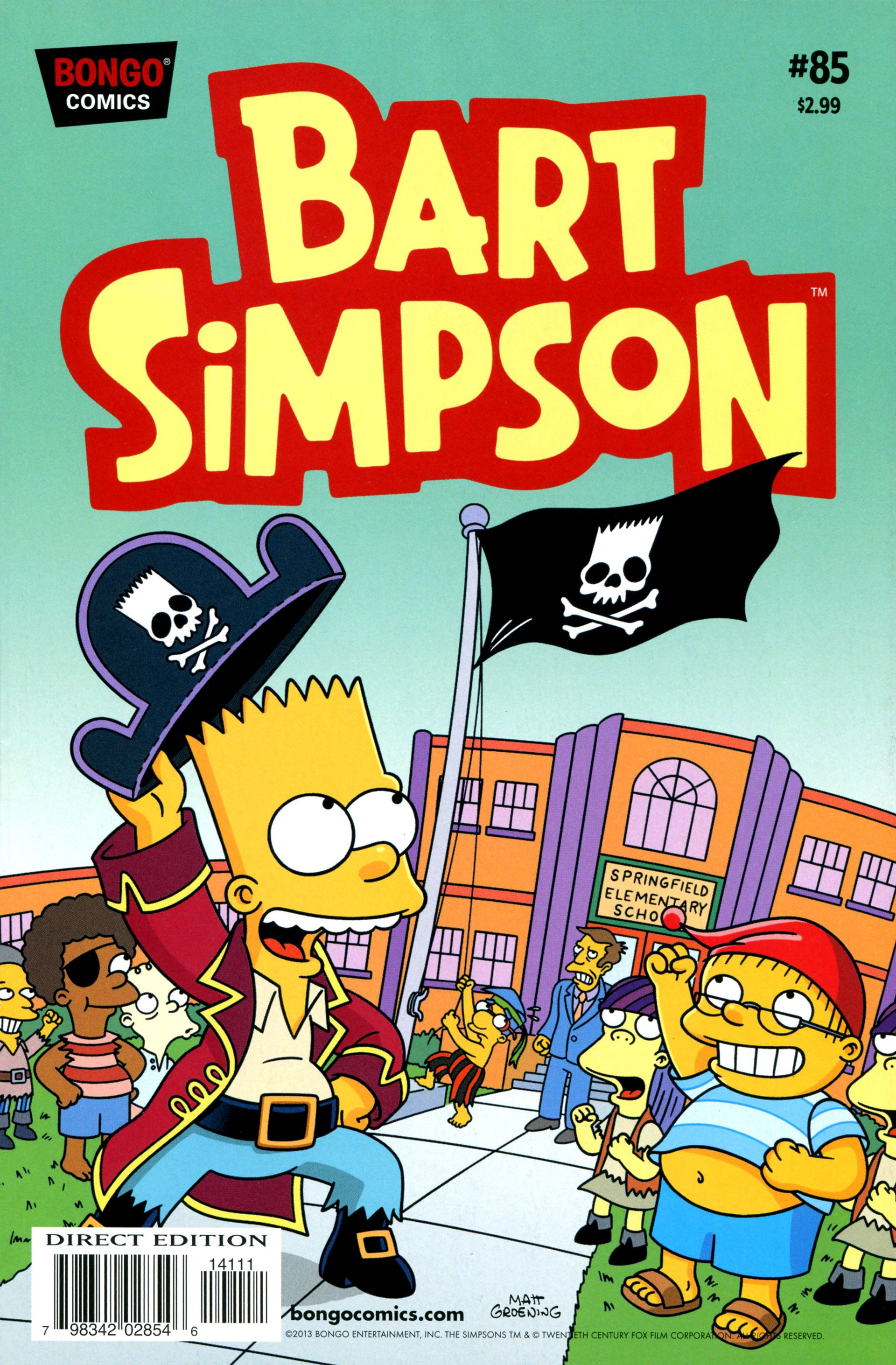 284bc086c1e0f Simpsons Comics Presents Bart Simpson 85