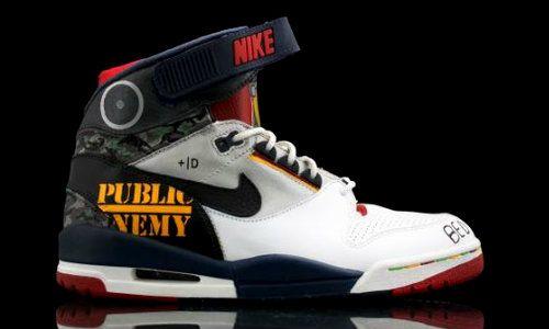 Nike Air [Revolution] x Public Enemy | Nike air, Nike