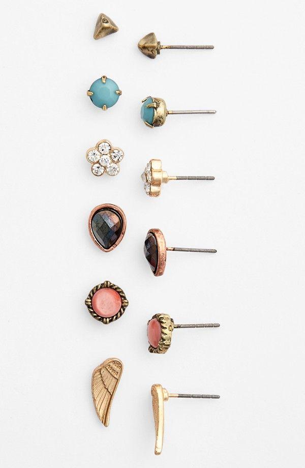 Dainty Stud Earrings