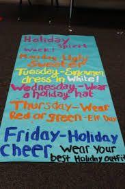 holiday spirit week ideas - Google Search … | Holiday ...