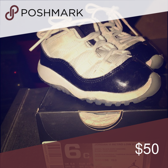 Jordan Retro 11 Toddler size 6c, smoke free home, worn but has life left Nike Shoes Sneakers