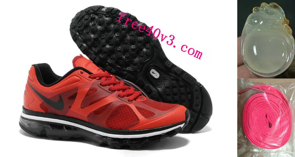 best service 4bd64 37190 Mens Nike Air Max 2012 University Red Black White Shoes  Red  Womens   Sneakers
