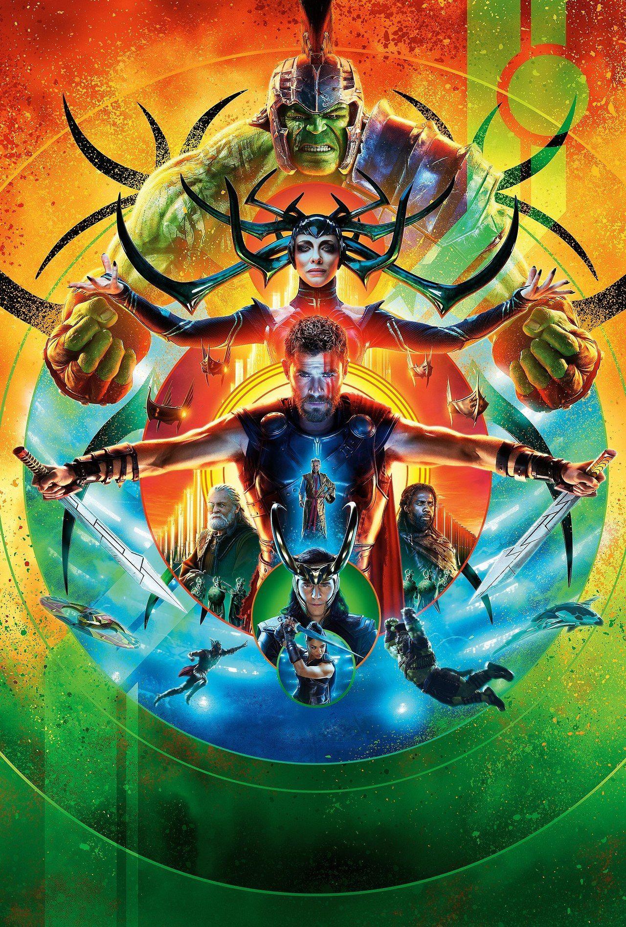 Marvel Studios Movies Hi Res Textless Posters Ragnarok