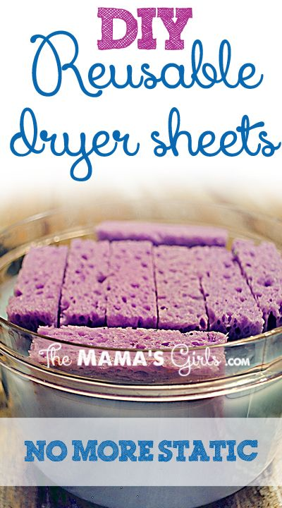 reusable dryer sheets with fabric softener diy a 4 sprays and good ideas. Black Bedroom Furniture Sets. Home Design Ideas