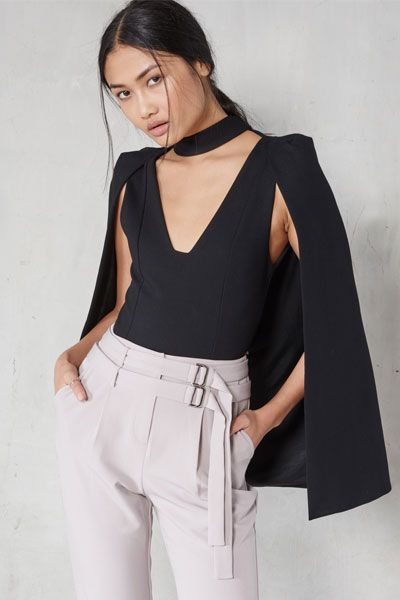 There are some occasions when going glam is the only option, if you're in the market for a statement evening piece, check out our latest find, Lavish Alice. With a cool take on the tailoring trend, the brand balances soft femininity with sharp angles, formal structure and cool cut-outs. Hero pieces include the tuxedo mini dress for a modern take on the LBD, and the belted cape for eye-catching dressing. Shop our edit below, and give your evening wear a sophisticated update.