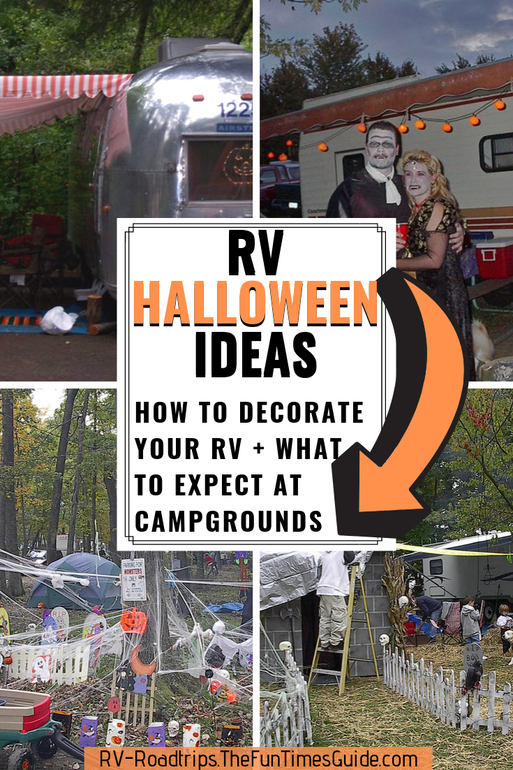 Photo of RV Halloween Decorating Tips + What To Expect At RV Campgrounds