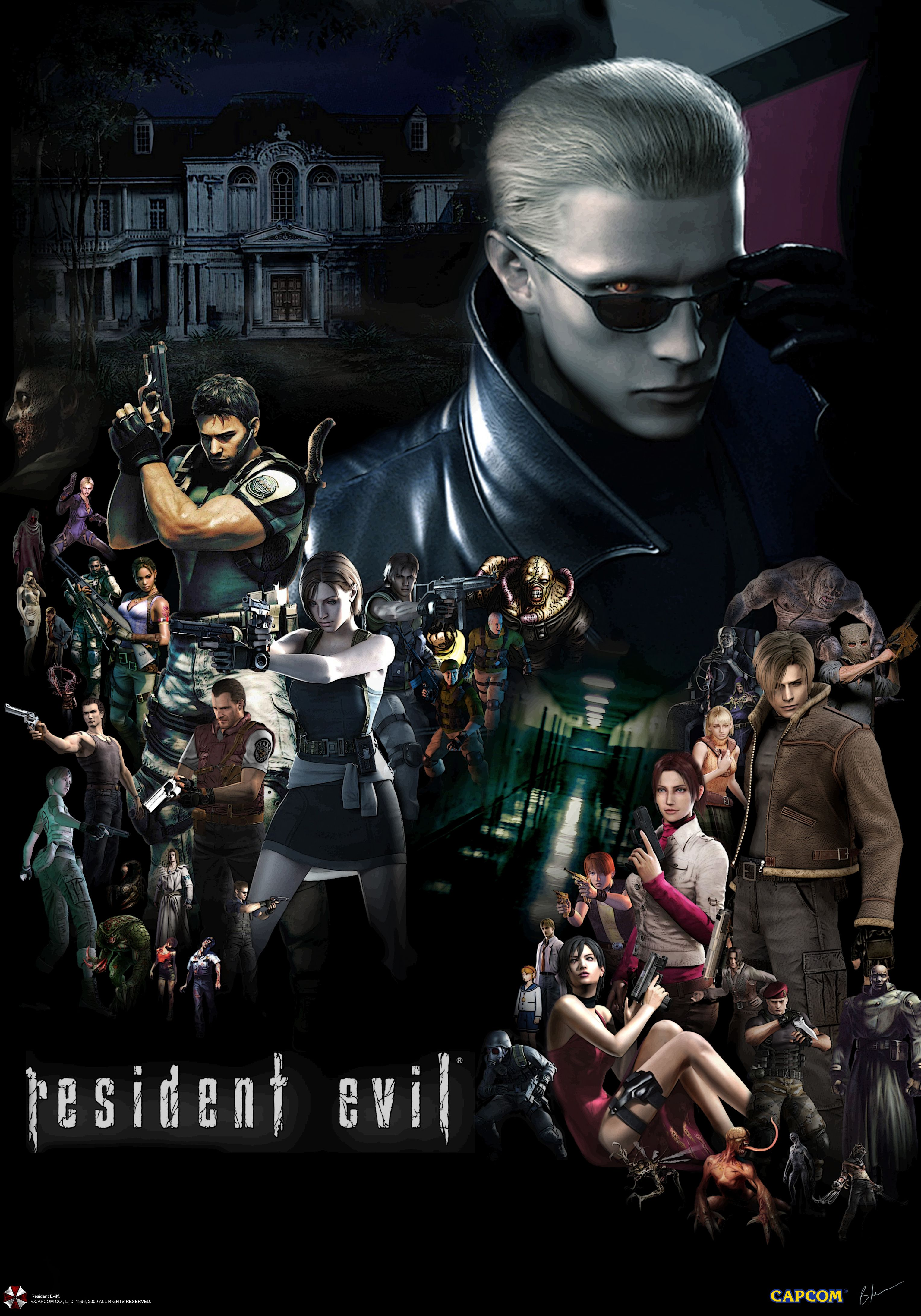 Resident Evil Poster By The Hero Of Time28 On Deviantart