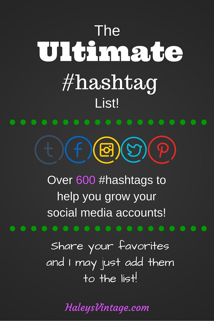600+ Hashtags for Bloggers That Will Make You Get Noticed ...