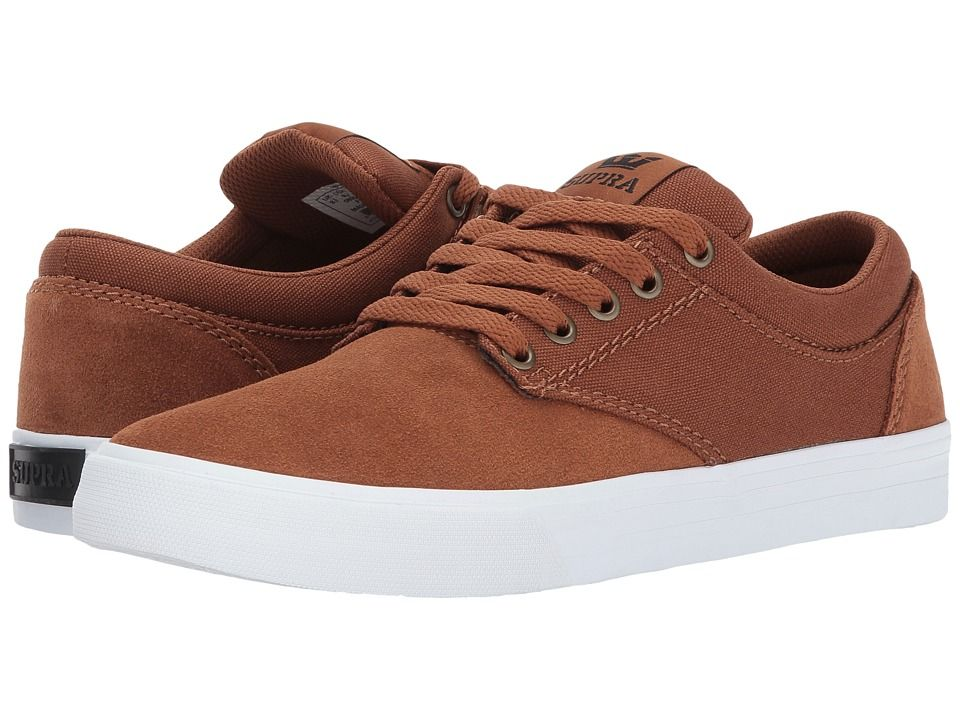 952735b6251e Supra Chino Men s Skate Shoes Brown White