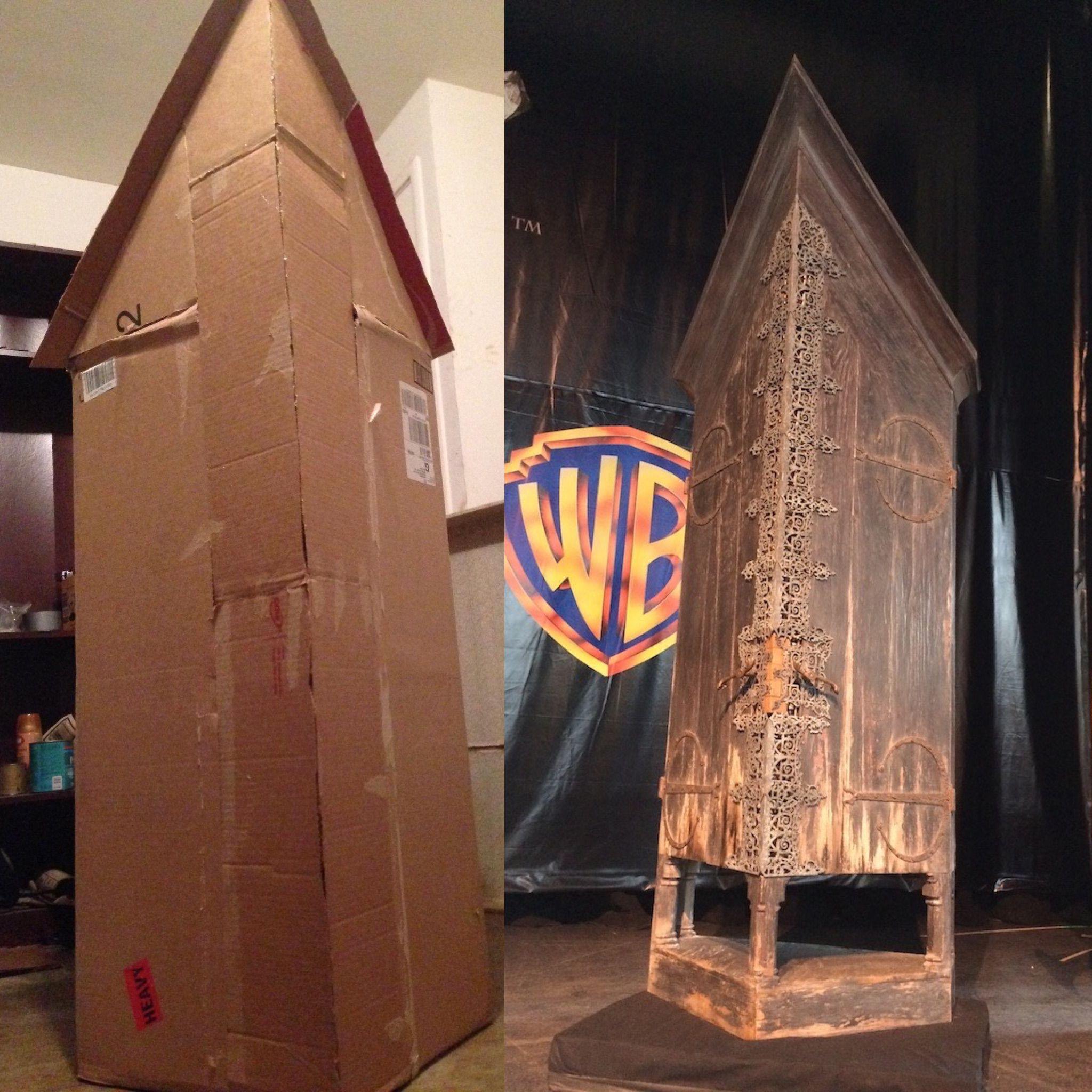 Diy Harry Potter Vanishing Cabinet For An Hp Halloween #Harrypotter