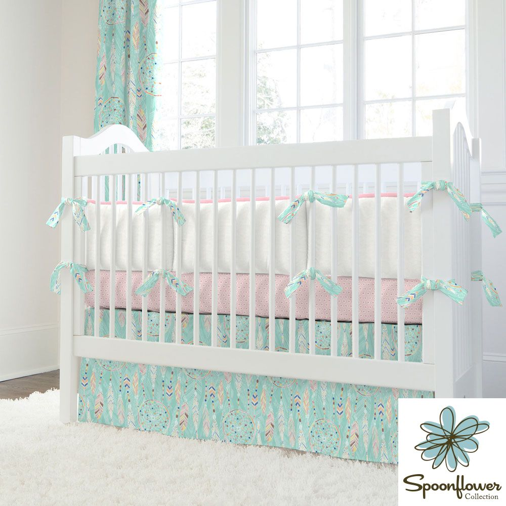 Dream Catcher Crib Bedding I Carousel Designs. The charm