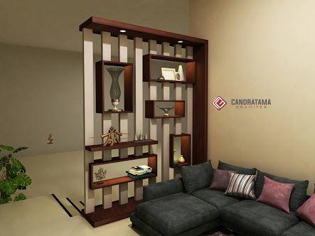 Image Result For Backdrop Candratama Living Room Partition Design Wall Partition Design Room Partition Designs