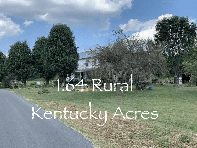 Rural Kentucky Fixer Upper Farmhouse For Sale w/1.64 Acres