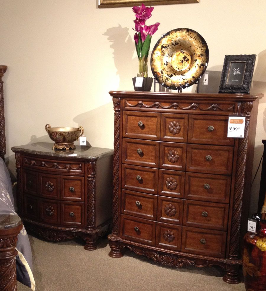 North Shore Dresser And Night Stand A Rich Traditional