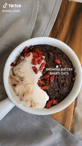 Brownie Baked Oats