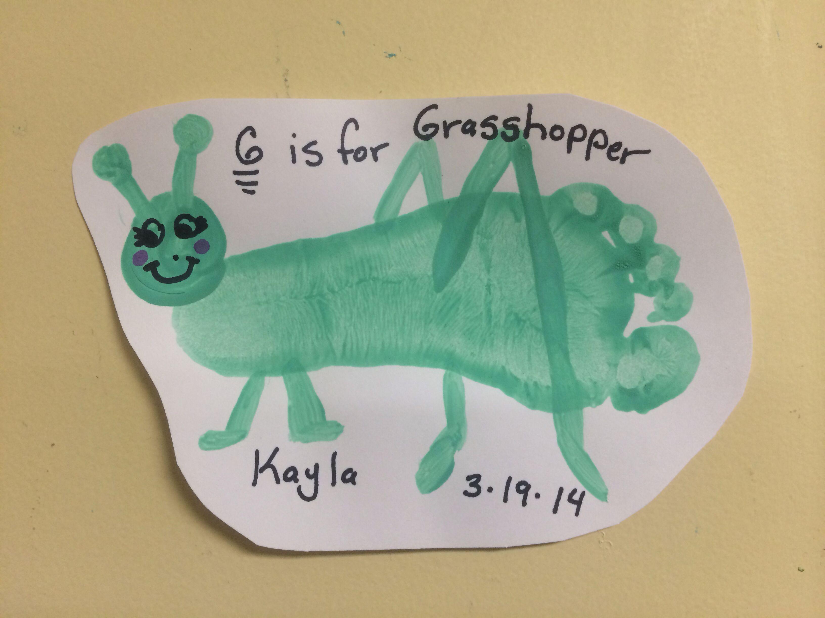 G Is For Grasshopper