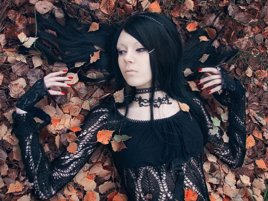 This Top Image By AskaTao Dead Gothic Girl 2