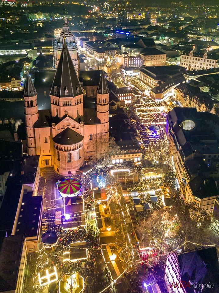 Weihnachtsmarkt Mainz.Der Weihnachtsmarkt In Mainz Germany Wie Findet Ihr Es Mehr Tolle