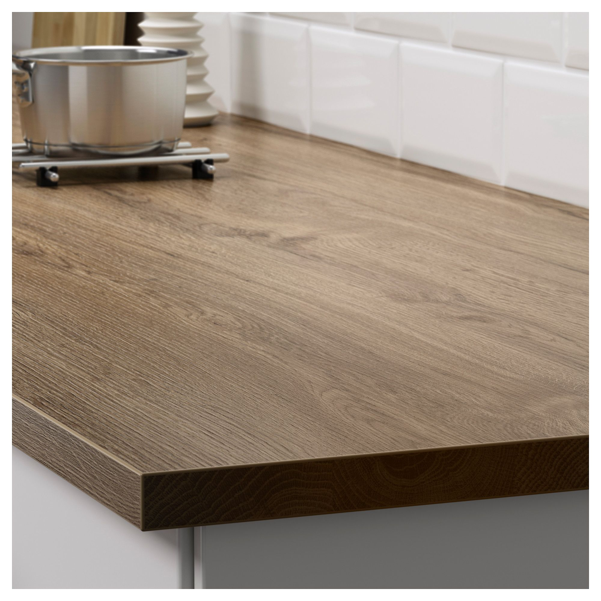 Ikea Küche 2m Ekbacken Worktop Dark Oak Effect Ikea Kitchen Diner Kitchen