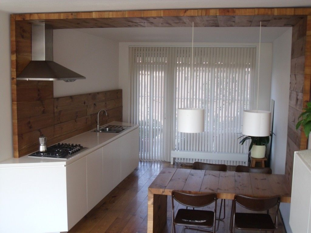 Decoración casas pequeñas - Almacenamiento escondido ii | Cocina ...