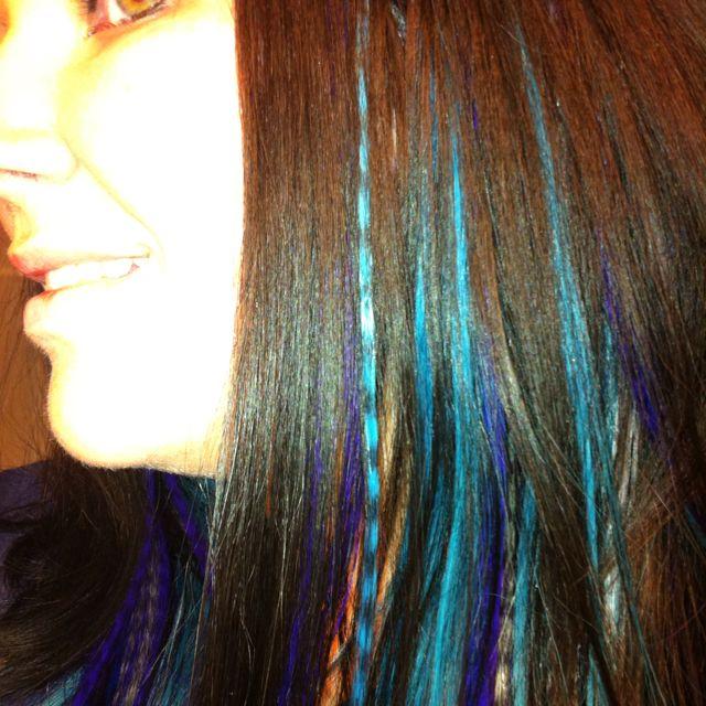 Love Coloured Hair Extensions Hair Style Pinterest Hair