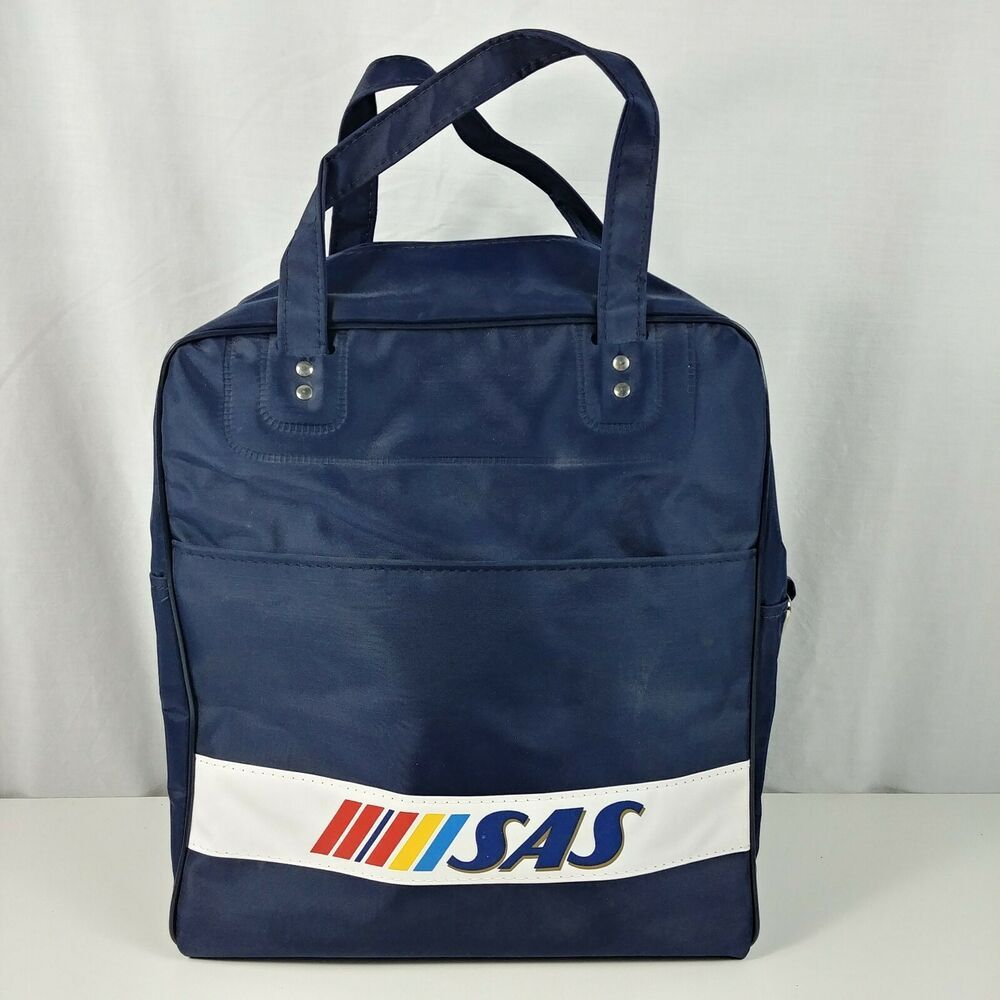 Scandinavian Airlines Sas Travel Bag Flight Attendant Pilot Stewardess Carry On Navy Travel Bag Travel Bags Carry On Luggage Baggage