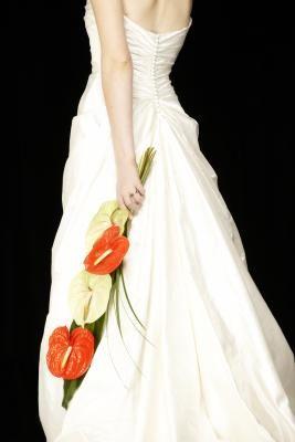 01f7f1c81c How to Attach a Loop & Button to Hold Up a Wedding Dress Train ...
