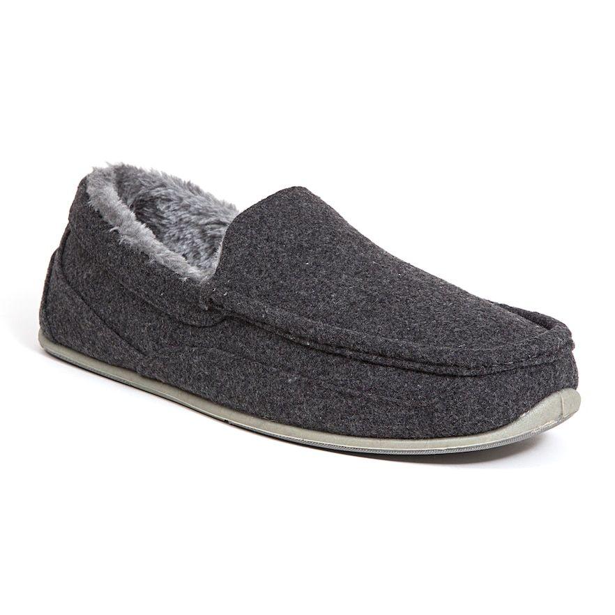 Dark Grey | Mens slippers